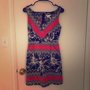 Milly Printed Dress | Size Zero
